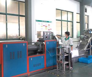 橡胶全自动切片机-海升O型密封圈厂家